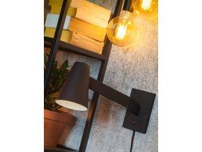 Nástěnná lampa Biarritz černá