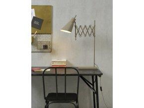 Stolní lampa Oxford šedá