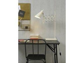 Stolní lampa Oxford bílá