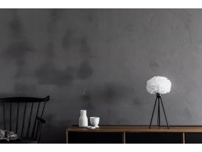 2091 Eos micro white black tripod table sideboard environment
