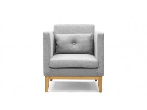 Day armchair lightgrey front iso
