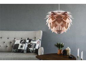 2030 Silvia medium copper white cord sofa environment