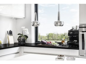 2049 Clava polished steel black cord kitchen environment