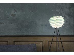 2059 Carmina mini turquoise tripod floor black wall environment