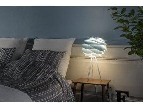 2061 Carmina mini azure tripod table white bedroom environment