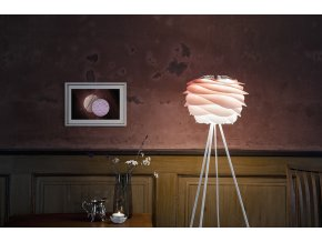 2080 Carmina mini baby rose tripod floor white wall and table environment