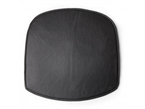 Wick SeatCushion Leather Black