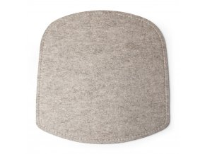 Wick SeatCushion Felt Beige