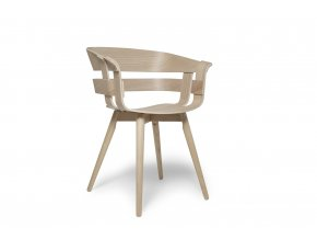 WickChair OakSeat OakLegs 45 iso