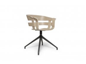 WickChair OakSeat Swivel 45 iso