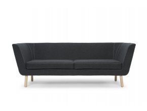 Nest sofa darkgrey front