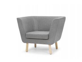 Nest easychair grey angle