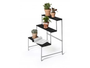 DHS FlowerPotStand Darkgrey Packshot FrontAngle2 WhiteBackground