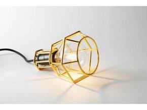Pracovní lampa Work zlatá