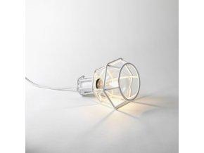 WorkLamp white table lit