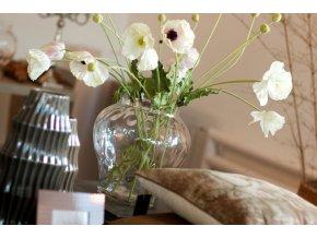 Váza Dôme Deco sklo H35cm