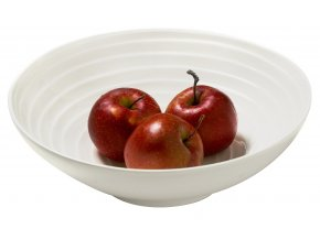 blond servingbowl apples