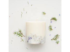 Juniper&limonium candle