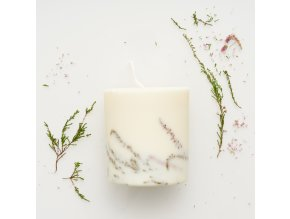 Heather candle