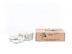 Dárkové balení vonná svíčka NATURELLA - Jeřabiny a borůvčí