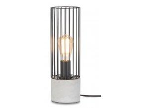 Stolní lampa Memphis černá