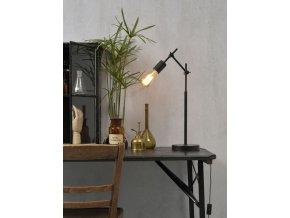 Stolní lampa Sheffield černá