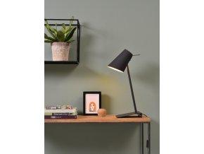 Stolní lampa Cardiff černá