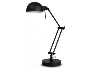 Stolní lampa Glasgow černá