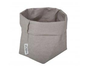 Essential papírový sáček šedý (Essent'ial velikosti sáčků S 13x9x10cm)