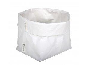 Essential papírový sáček bílý (Essent'ial velikosti sáčků S 13x9x10cm)