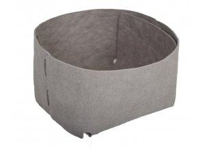 Essential papírový sáček šedý MINIMAL (Essent'ial velikosti sáčků MINIMAL S 8x11x11,5 cm)
