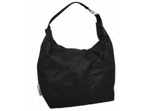 ESSENTIAL Taška Saccone s karabinkou černá (Essent'ial velikosti tašek Saccone/Saccaccio/Sachetto L: 71 x 24 x 78cm)