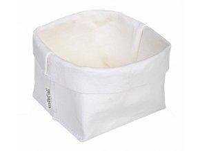 Essential papírový sáček bílý strong (Essent'ial velikosti sáčků STRONG L 28,5x29x27cm)