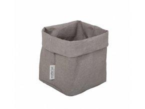 Krabice Cubo šedá (Essent´ial velikosti krabic Cubo S 12x12x12 cm)