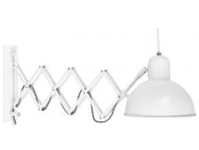 Nástěnná lampa Aberdeen bílá