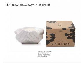 Vonná svíčka ze sojového vosku HIS HANDS - bříza 180ml