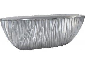 21276 river tischgefaess aluminium