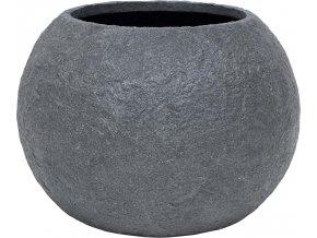21997 rocky pflanzkugel 80 smoke granit
