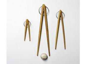 Kuchyňské kleště / hůlky Pick Up bambusové