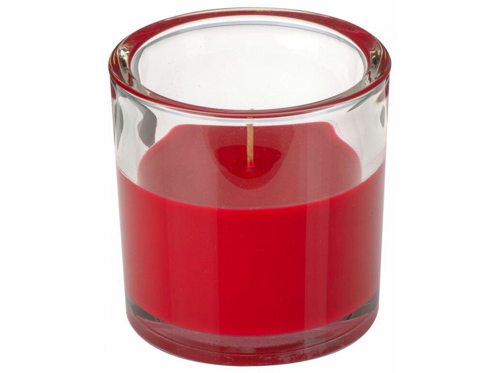 svicka ve skle cervena 10 10 cm