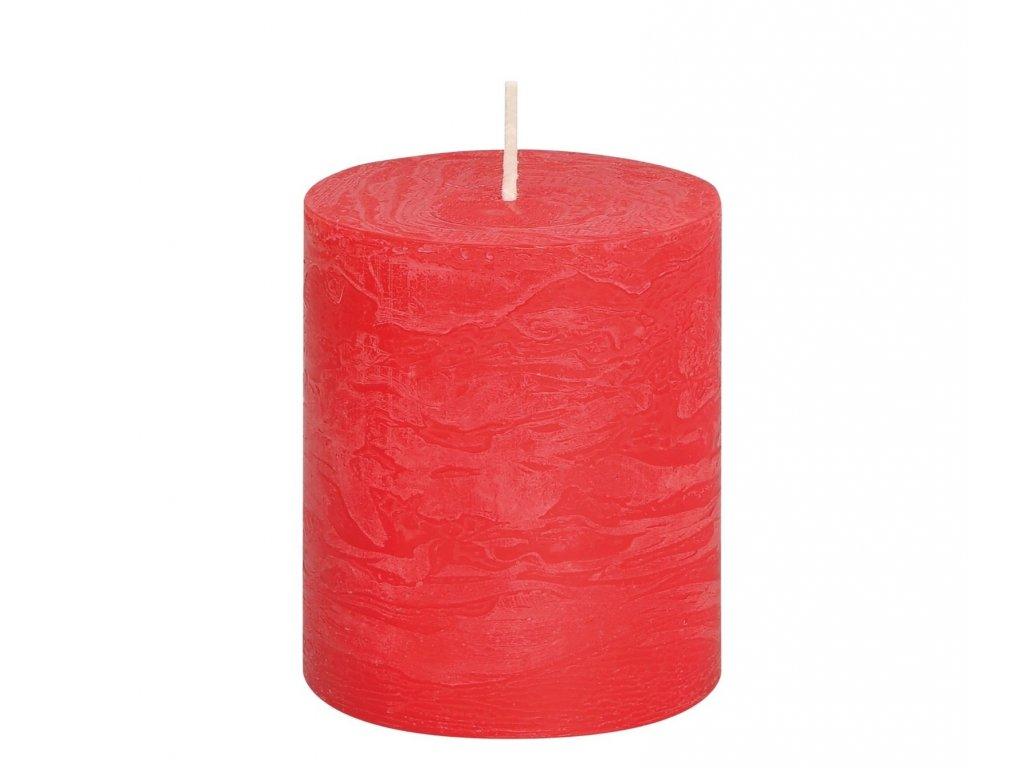 svicka rustikalni cervena 10 cm
