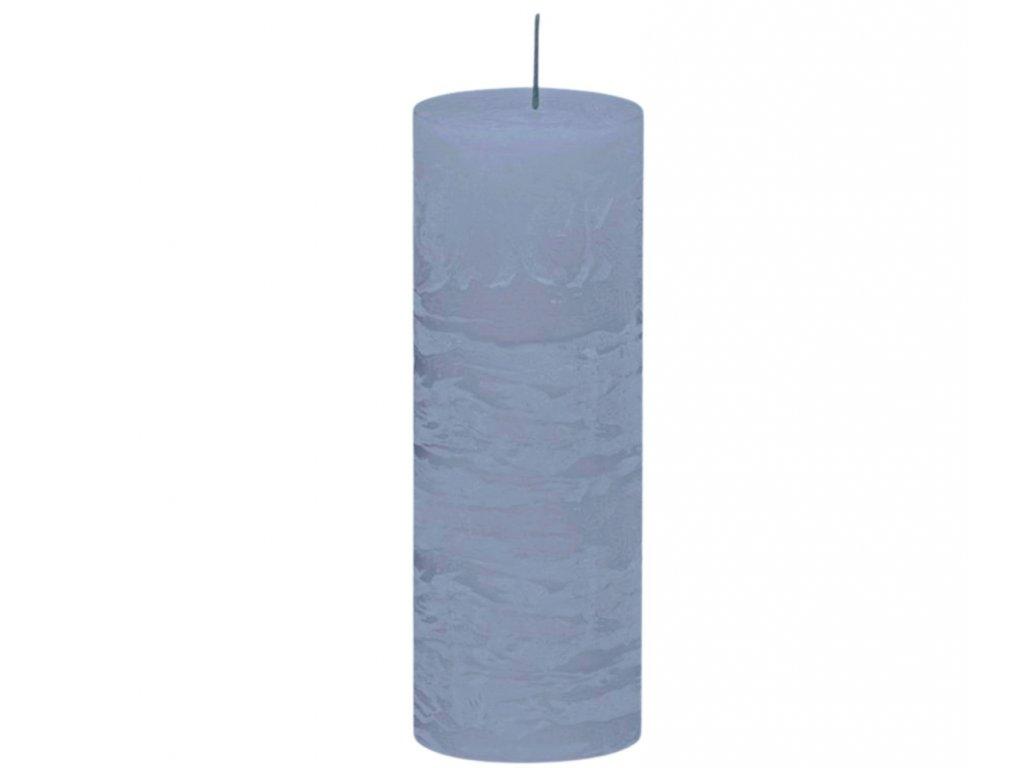 svicka rustikalni svetle modra 190 cm