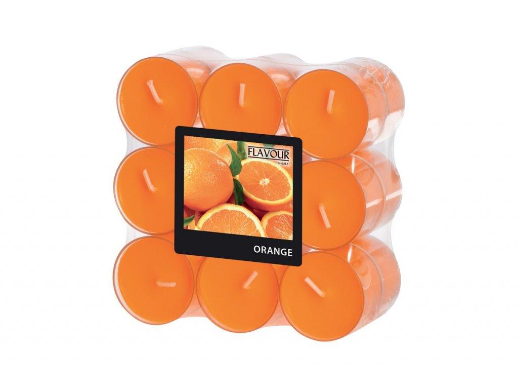 vonne svicky orange 6 hodin 18 ks