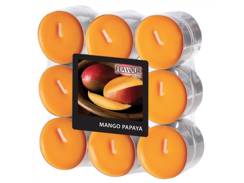 vonne svicky cajove mango papaya 18 kusu