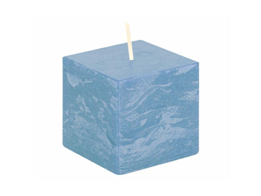 svicka kostka svetle modra rustikalni 68 68 65