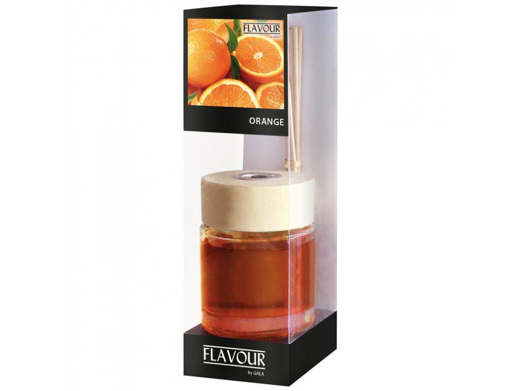 Vonny difuzer Orange 100 ml 6 ks ratanove tycinky