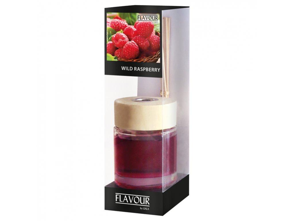 vonny difuzer Wild Raspberry 100 ml 6 ks ratanove tycinky
