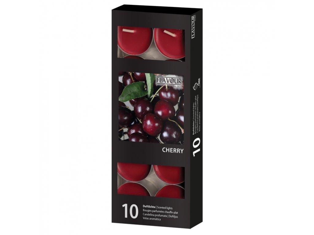 vonne svicky Cherry 10 ks