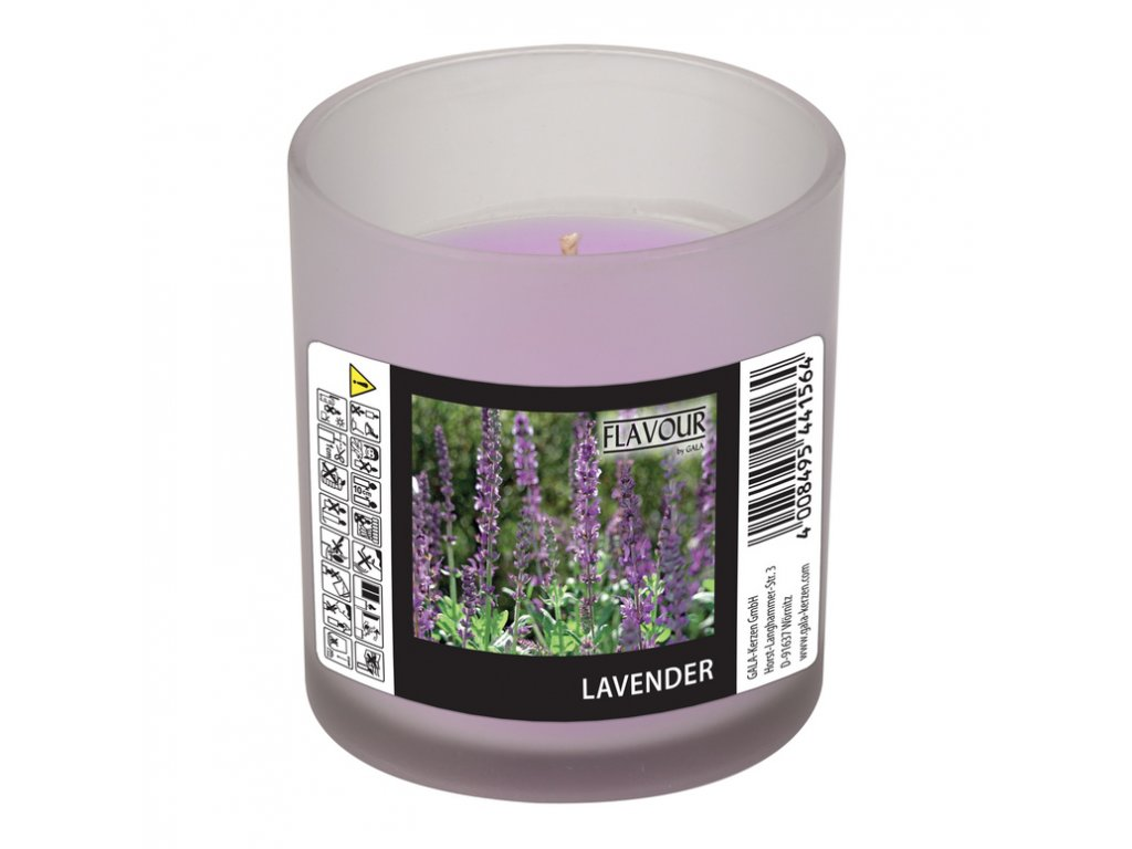 vonna svicka Lavender v matnem skle Indro Vino