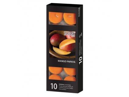 vonne svicky Mango Papaya 10 ks